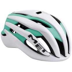 MET Trenta   2018 White/Green Road Helmet   Bikes24-7.com   £195