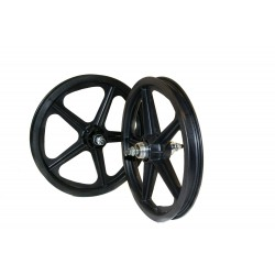 "Black Skyway Tuff | 16"" BMX Mag Wheels 
