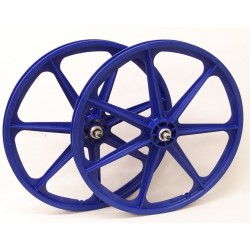 "Blue Skyway Tuff | 24"" BMX Mag Wheels 