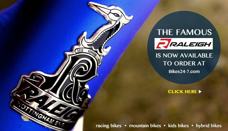 Introduce new Raleigh bikes, now available to order at Bikes24-7.com
