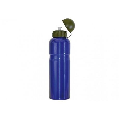 Mighty 750ml Alloy Water Bottle - Blue