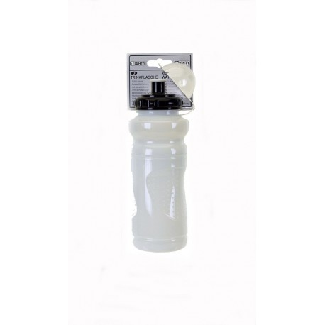 Mighty 700ml Transparent White Bottle