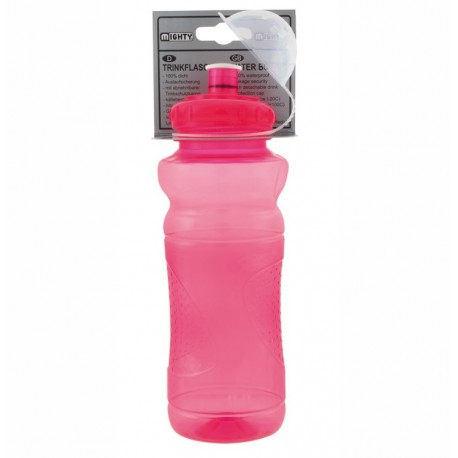 Mighty 700ml Transparent Red Bottle