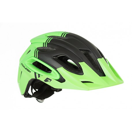 Raleigh Magni Helmet | Green/Black | Super Light Construction