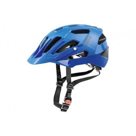 Raleigh Uvex Quatro Helmet | 17 ventilation channels | Blue
