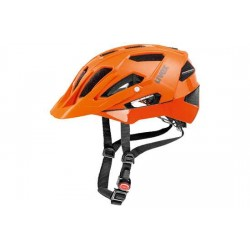 Raleigh Uvex Quatro Helmet - 17 ventilation channels - Orange