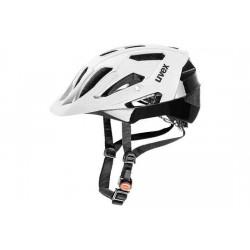 Raleigh Uvex Quatro Helmet - 17 ventilation channels - White/Black