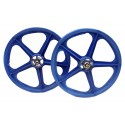 "Blue Skyway Tuff | 20"" BMX Mag Wheels | Sealed Bearings"