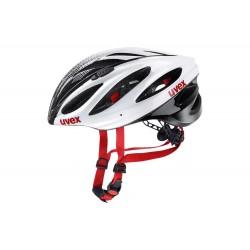 Uvex Boss Race | Cycling Helmet | White/Black | Bikes24-7.com