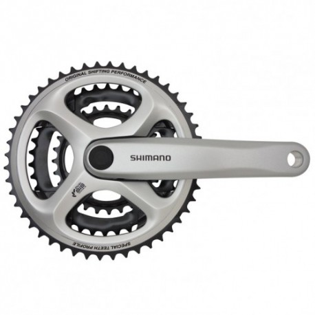 SHIMANO MTB TRIPLE CHAINSET | 28/38/48 X170 | WITH GUARD