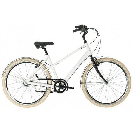 Raleigh Chloe | Ladies Heritage Bike | 3 Speed | White Frame