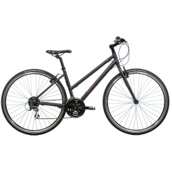 Raleigh Strada 2 | Burgundy Urban Sports Bike | 14"