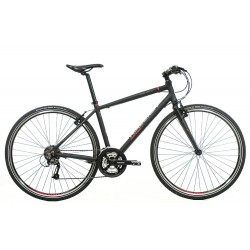 Raleigh Strada 3 | Black Urban Sports Bike | 27 Speed | 700c
