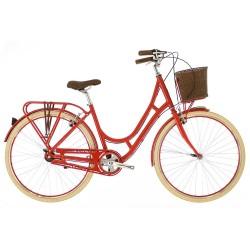 Raleigh Spirit | Ladies Heritage Bike | 3 Speed | Red Frame