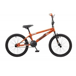 "Rooster Radical | BMX | Black and Orange | 20"" Wheel"