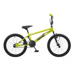 "Rooster Radical | BMX | Black and Green | 20"" Wheel"