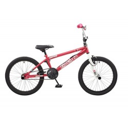 "Rooster Radical | BMX | White and Pink | 20"" Wheel"