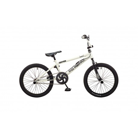 "Rooster Big Daddy | BMX | White and Black | 20"" Wheel"