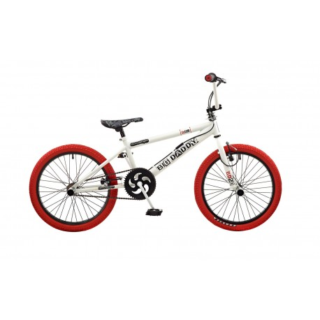 "Rooster Big Daddy | BMX | White and Red | 20"" Wheel"