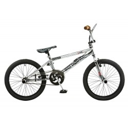 "Rooster Big Daddy | BMX | Chrome and Brown | 20"" Wheel"