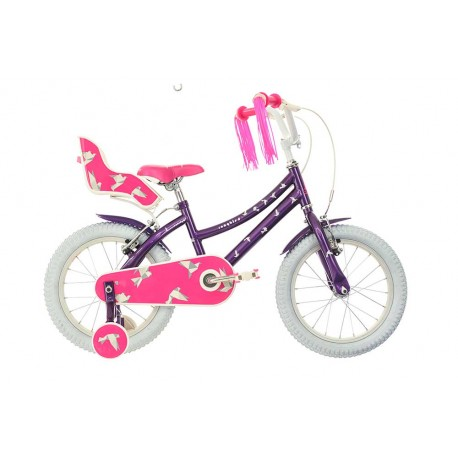 "Raleigh Songbird |Girls Bike | Pink and Purple | 12"" 14"" and 16"" Wheel"