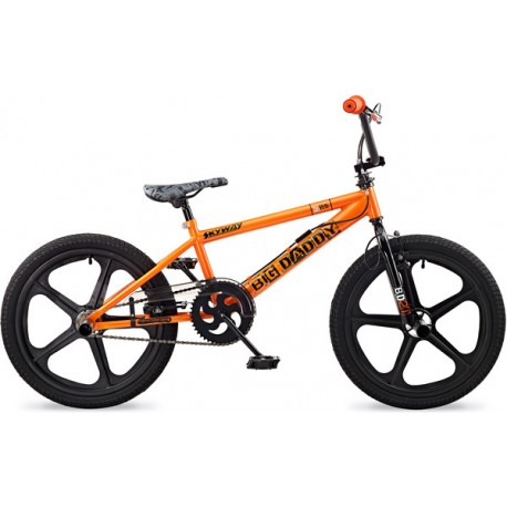 "ROOSTER BIG DADDY | 20"" BLACK MAG WHEEL 