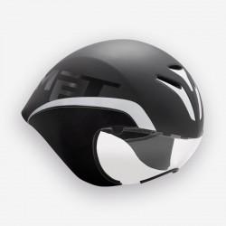 MET Drone | Time Trial | Aero Cycling Helmet | Black | Bikes24-7.com