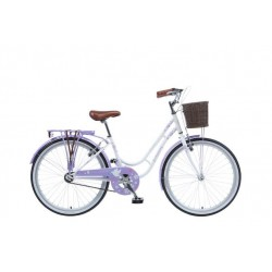 Viking Paloma | Ladies Heritage Bike | White Frame