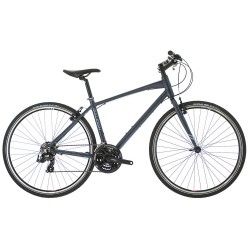 Raleigh Strada 1 | Hybrid Bike | Blue Crossbar Frame | 21 Speed