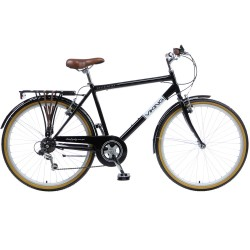 "Viking Westminster | Gents Heritage Bike | Black 20"" Frame 