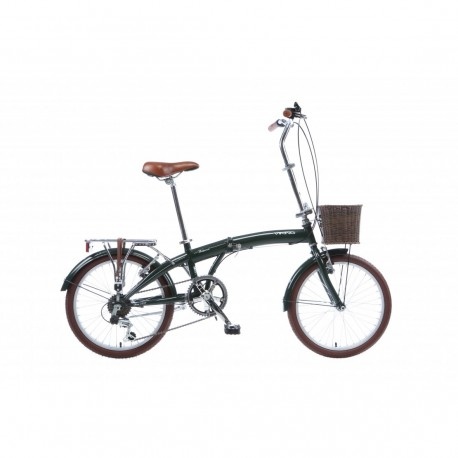 Viking Westwood | Folding Bike | Racing Green Frame | 11""