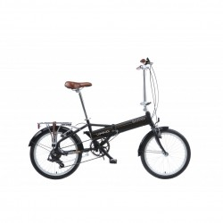 "Viking Safari | Folding Bike | Matt Black | 13"" Frame"