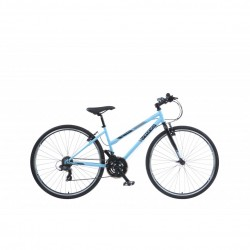 "Viking Bourbon Street | Urban Sports Bike | Matt Blue Ladies Frame| 16"" and 19"""