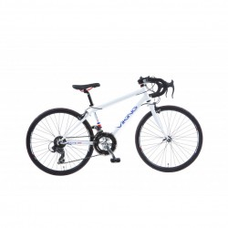 "Viking Route 66 | Racing Bike | White Frame | 24"" Wheel"
