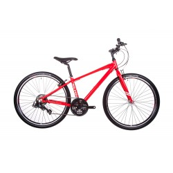 Raleigh Strada 1 | Crossbar Frame | Red | 21 Speed
