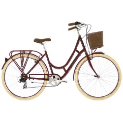 Raleigh Cameo | Ladies Heritage Bike | Burgundy Frame | 7 Speed