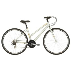 Raleigh Circa 1 |Hybrid Bike | Ladies Silver Frame | Bikes24-7.com