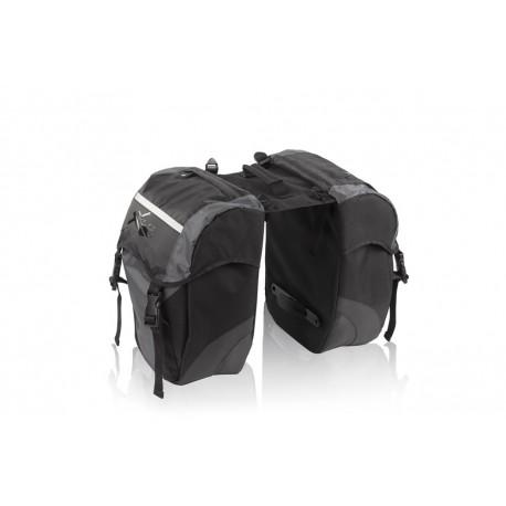 XLC Double Pannier Bag | 30 Litres | Bikes24-7.com | £38 | BA-S41