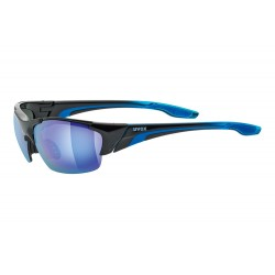 Uvex Blaze 111 Sunglasses | 2018 Model | 3 Lens | Black/Blue