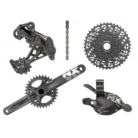 SRAM Groupset NX   1 X 11 Trigger   BB30   Free Delivery   £240