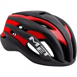 MET Trenta | 2018 Black/Red Road Helmet | Bikes24-7.com | £195