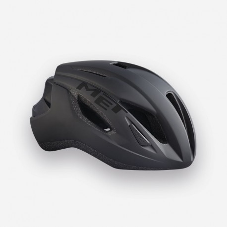 MET Strale   Road Bike Helmet   Black   Free Delivery   £62.50