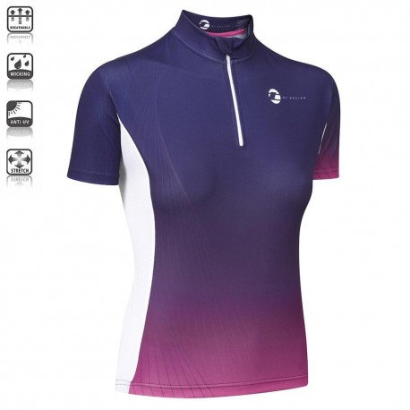 Tenn 'By Design' | Ladies Short Sleeved Jersey | Blue/Pink | £40.99