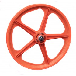 "Orange Skyway Tuff | 20"" BMX Mag Wheels 