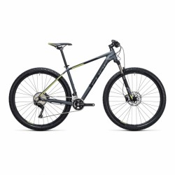 "CUBE ACID | Hardtail Mountain Bike | Grey/Yellow 21"" Frame"