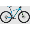 CUBE LTD SL | Hardtail Mountain Bike | 29er | Blue/Green Frame