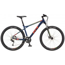 GT Avalanche Comp | Hardtail Mountain Bike | Blue and Orange Frame