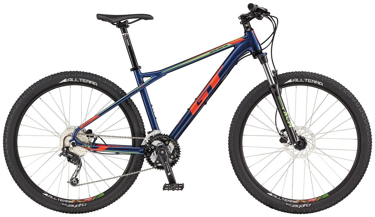 GT Avalanche Comp|Hardtail Mountain Bike| Medium Blue and Orange Frame