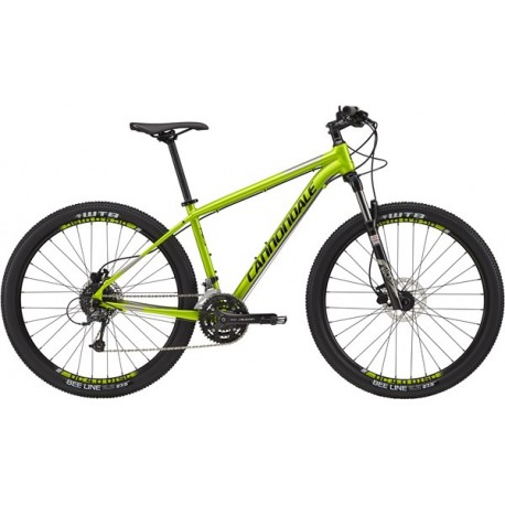 Cannondale Trail 4 | Mountain Bike | Front Suspension | 2017 Green Frame