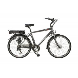 ECBO UCR-10 Roadster | Electric Hybrid Bike | Grey Frame